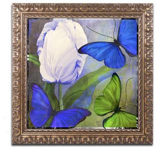 Trademark Global Color Bakery 'Morphos One ' Ornate Framed Art