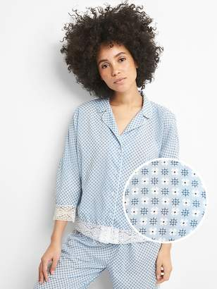 Gap Dreamwell Pajama Top