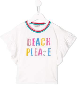 Pinko Kids 'Beach Please' printed T-shirt