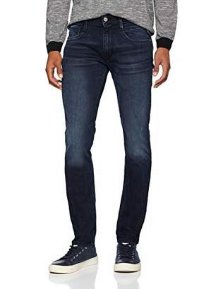 Replay Men's Anbass Slim Jeans (Dark Blue Denim 7), W34/L32 (Manufacturer Size: 34)