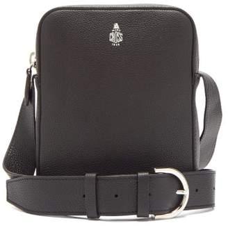 Mark Cross Baker Grained Leather Cross Body Bag - Mens - Black