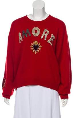 Dolce & Gabbana Amore Cashmere Sweater