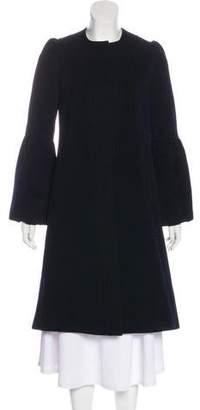 Diane von Furstenberg Long Campo Wool Coat
