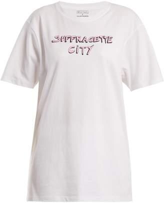 Bella Freud Plinth Suffragette City T-Shirt