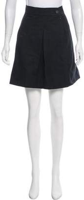Chanel Paneled Mini Skirt