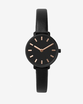 Express Breda Black Beverly Watch