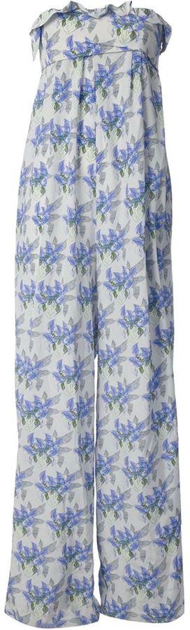 Cacharel floral print jumpsuit