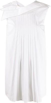 Marni pleated sleeveless blouse