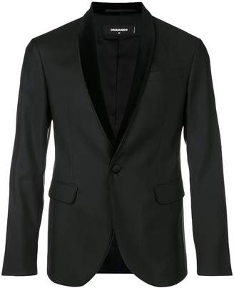 DSQUARED2 shawl collar tuxedo jacket