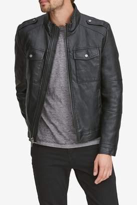 Andrew Marc Bruckner Faux Leather Jacket