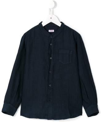 Il Gufo grandad collar shirt