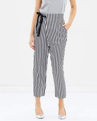 J.Crew Stripe Lucky Crepe Okinawa Pants
