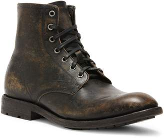 Frye Bowery Lace-Up Leather Boots