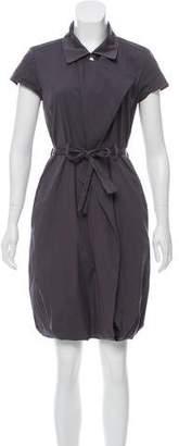 Celine Belted Gathered Dress