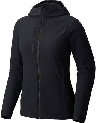 Mountain Hardwear Super Chockstone Hooded Softshell Jacket - Women's