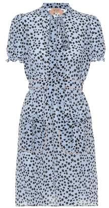 N°21 Donna star-printed silk minidress