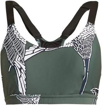 The Upside Mallard-print dance bra