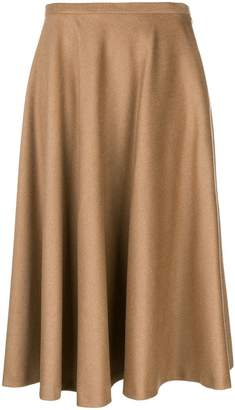 Max Mara flared midi skirt