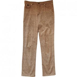 Aigner Multicolour Cotton Trousers for Women