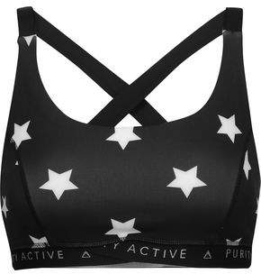 Purity Active Printed Stretch Sports Bra