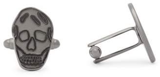 Alexander McQueen Skull Cufflinks - Mens - Silver