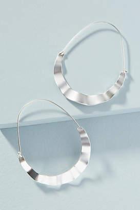 Anthropologie Waverly Hoop Earrings