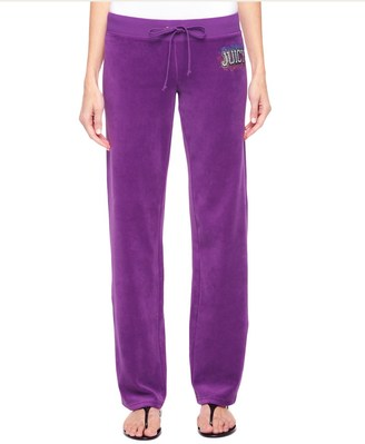 Logo Jc Collegiate Velour Original Pant $128 thestylecure.com