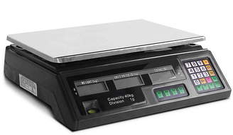 Dwelllifestyle Electronic Computing Platform 40Kg Digital Scale