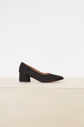 Ani French Connenction High Vamp Point Block Heels