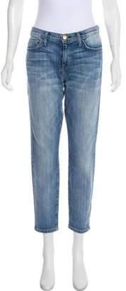 Current/Elliott J Brand Mid-Rise Skinny Jeans