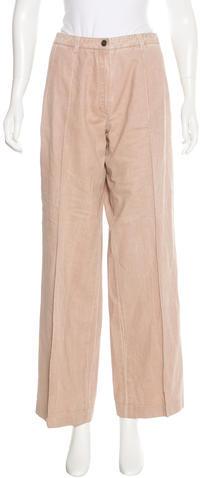 ChanelChanel Wide-Leg Woven Pants