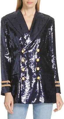 Polo Ralph Lauren Double Breasted Sequin Blazer