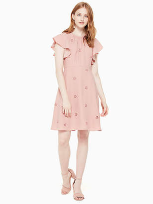 Kate Spade Cutout crepe dress