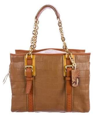 Longchamp Embossed More Is More Bag