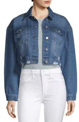 Bagatelle Cropped Denim Jacket