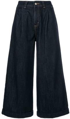 Societe Anonyme cropped wide leg jeans