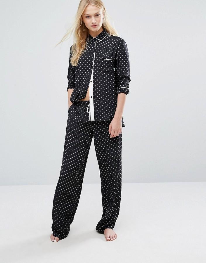 DKNYDKNY Satin Pajama Set