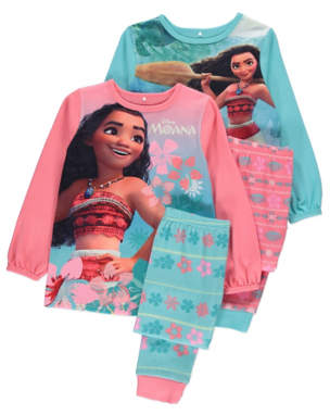 Disney Moana Pyjamas 2 Pack