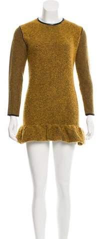 Burberry Burberry Prorsum Wool Knit Dress