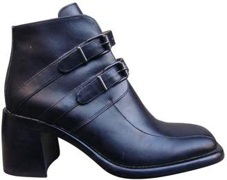 Free Lance Leather strap boots