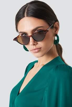 Cat Eye Na Kd Accessories Drop Edge Cateye Sunglasses Tortoise