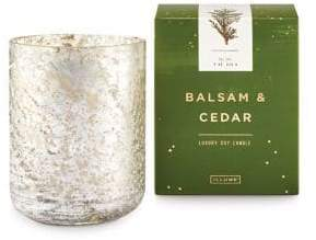 Illume Noble Holiday Balsam and Cedar Boxed Sanded Tumbler Candle