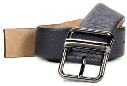 Valentino Pebbled Leather Belt