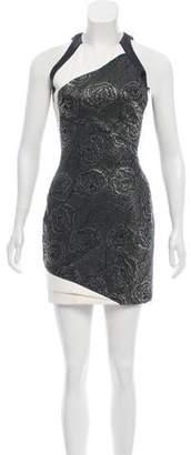 J. Mendel Embellished Mini Dress