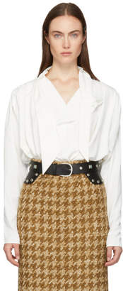 Isabel Marant White Ugi Blouse