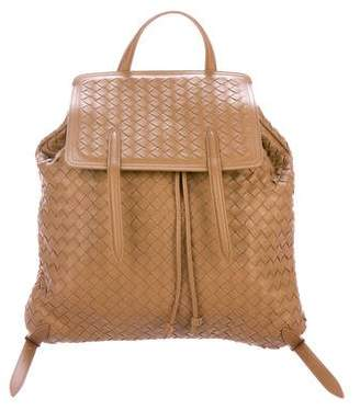 Bottega Veneta 2016 Intrecciato Leather Backpack