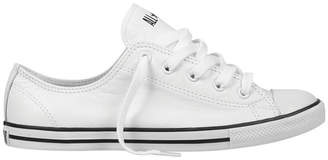 7d261909cd7bb Converse Chuck Taylor All Star Dainty 537108 Leather Ox White Sneaker