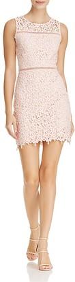 AQUA Floral Lace Dress - 100% Exclusive $98 thestylecure.com