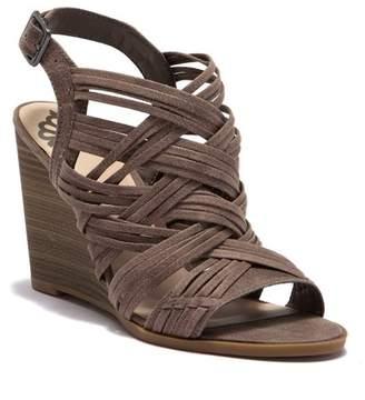 Fergalicious Howdy Wedge Sandal