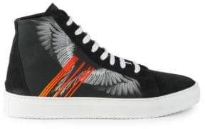 Marcelo Burlon County of Milan Wings Barcode High-Top Sneakers